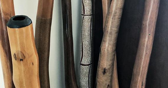 Travail énergétique et du son avec les didgeridoos